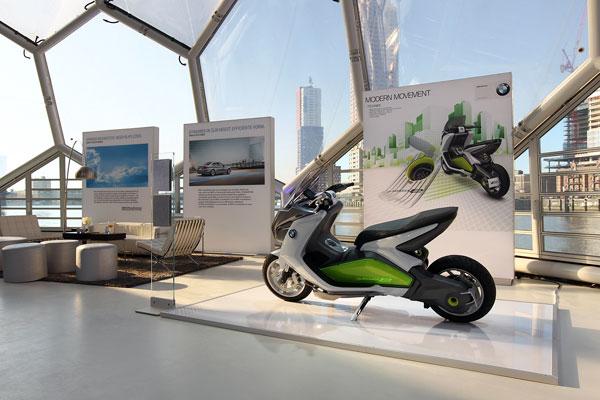 El Concept E Scooter la movilidad del futuro