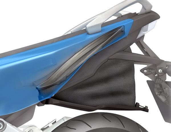 FlexCase, un sistema inédito para las BMW C 600 Sport