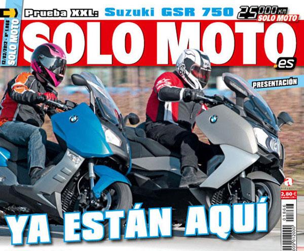 BMW C 600 Sport y C 650 GT opniones Solo Moto web
