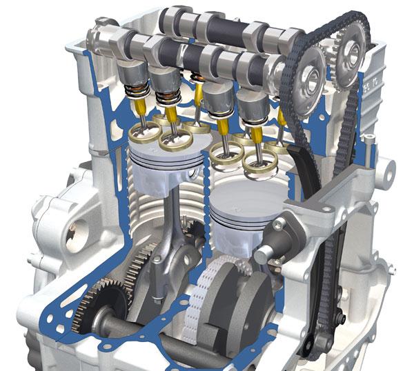Motor Tricilindrico BMW C 600 Sport y BMW C 650 GT