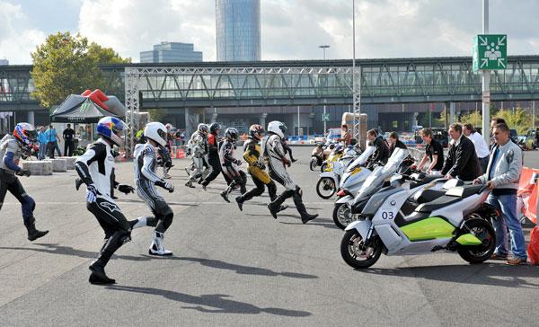 El C Evolution gana el Campeonato Mundial de Scooter Electrico