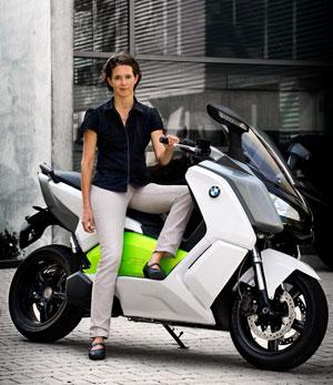 Dorit Mangold, jefe de proyectos BMW C Evolution