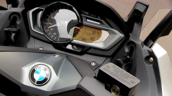 Instrumentación BMW C 600 Sport