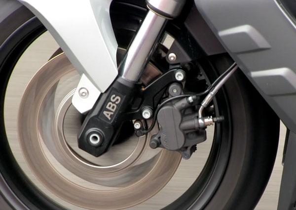 Suspensión y ABS BMW C 600 Sport