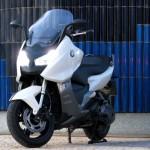 BMW C 600 Sport blanca (4)